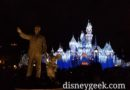 Partners Statue and Sleeping Beauty Castle at Disneyland