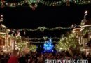On Main Street USA for Believe in Holiday Magic