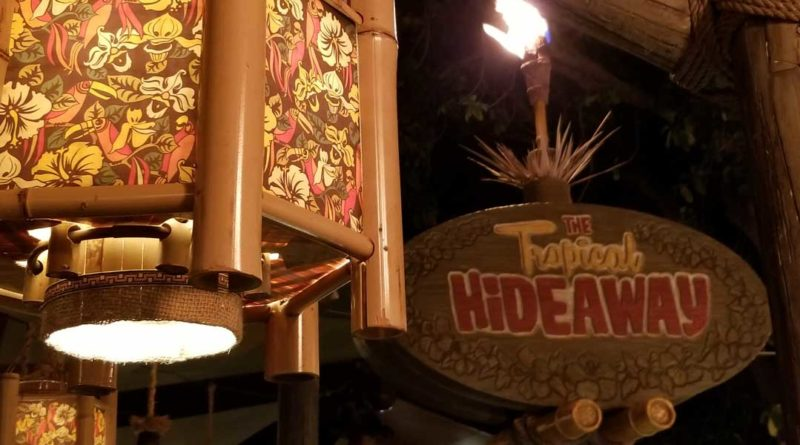 Tropical Hideaway Entrance