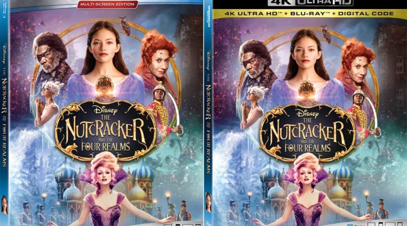 Nutcracker and the Four Realms Home Video Box Art
