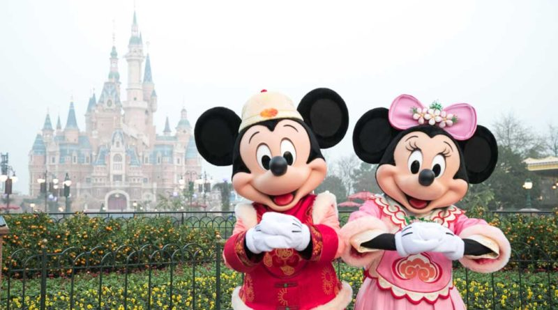 Shanghai Disneyland - Chinese New Year 2019
