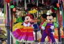 Mickey & Minnie in Viva Navidad Street Party