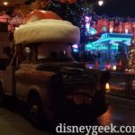 Santa Mater at the Cozy Cone in Cars Land
