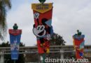 Get Your Ears On Banners in the Esplande at Disneyland Resort