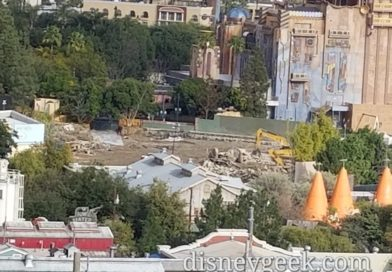 Marvel Project at Disney California Adventure Construction Pictures (1/18/19)
