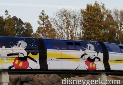 Disneyland Monorail Blue Mickey Mouse wrap pictures