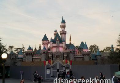 Disneyland Sleeping Beauty Castle Renovation (several pictures)