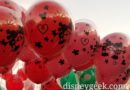 Mickey Mouse & Minnie Mouse Valentine Balloons on Main Street USA at Disneyland