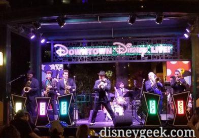 Phat Cat Swinger performing in Downtown Disney tonight