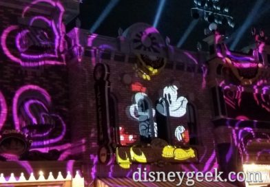 Mickey's Mix Magic Premiered at Disneyland This Evening (several pictures)