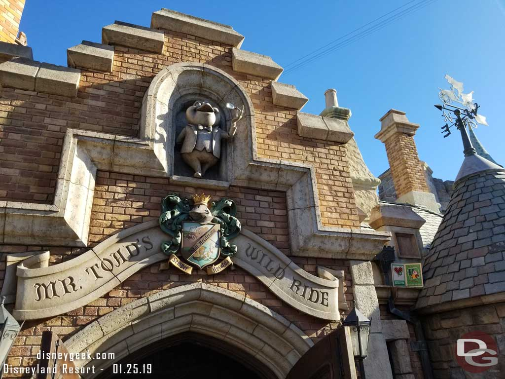 Fantasyland - Toad Hall