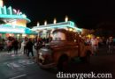 Mater Rolling Through Cars Land