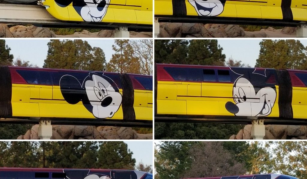 Disneyland Monorail Red Mickey Mouse Wrap (several pictures)