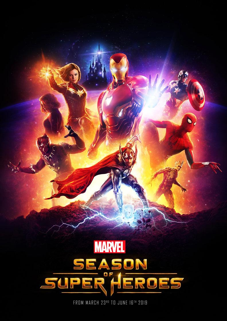 Disneyland Paris - Marvel Season of Super Heroes