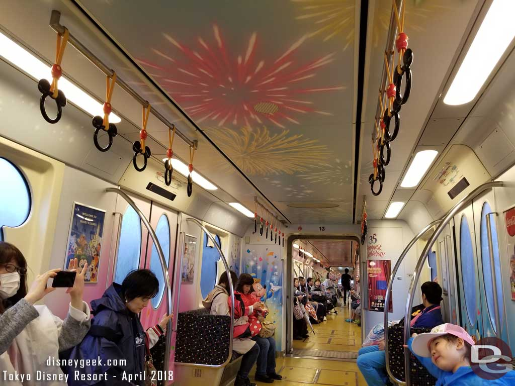 2018 Tokyo Disney Happiest Celebration Liner