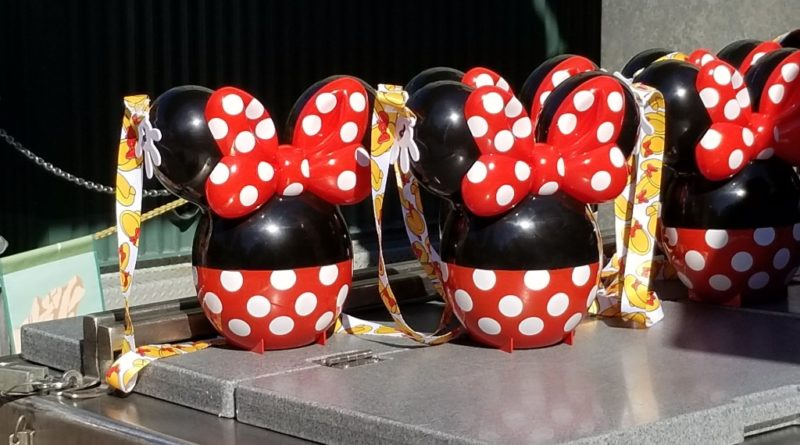 Minnie Popcorn Buckets At Disney California Adventure