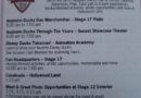 Schedule for Anaheim Ducks Day this Monday at Disney California Adventure