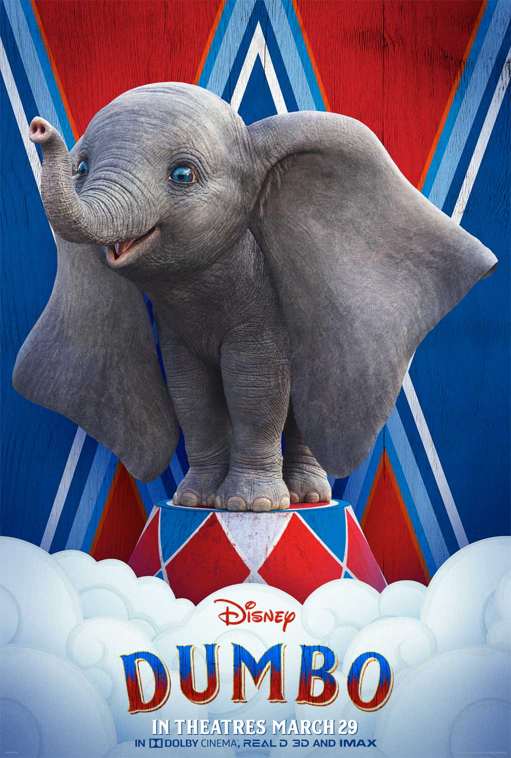 Dumbo, a newborn elephant with a sweet disposition and oversized ears