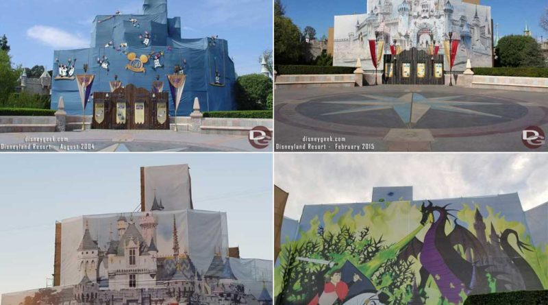 Sleeping Beauty Castle Renovations