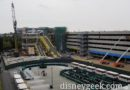 Disneyland New Parking Structure Construction Pictures (3/01/19)