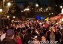 Disney California Adventure Performance Corridor this evening
