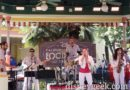Bacano Boombox performing on the Paradise Garden Bandstand