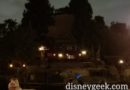 Fantasmic! Returns to the Rivers of America tonight, found a standby spot for the 9pm show