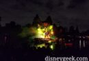 No fire during Fantasmic tonight