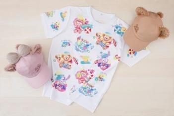 T-shirts (S, M, L, LL) 3,200 yen each Caps 3,500 yen each