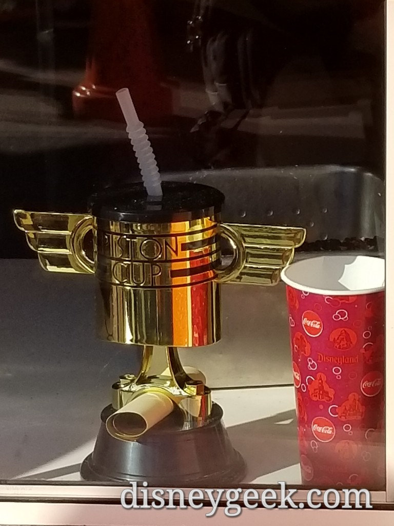 Piston Cup Sippers are available at Flo's & Cozy Cone ...