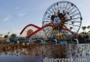 Preparing for this evening's World of Color, just about 4 hours till show time