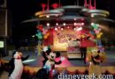Mickey Mouse,  Pluto & a penguin at the Get Your Ears on Dance Party