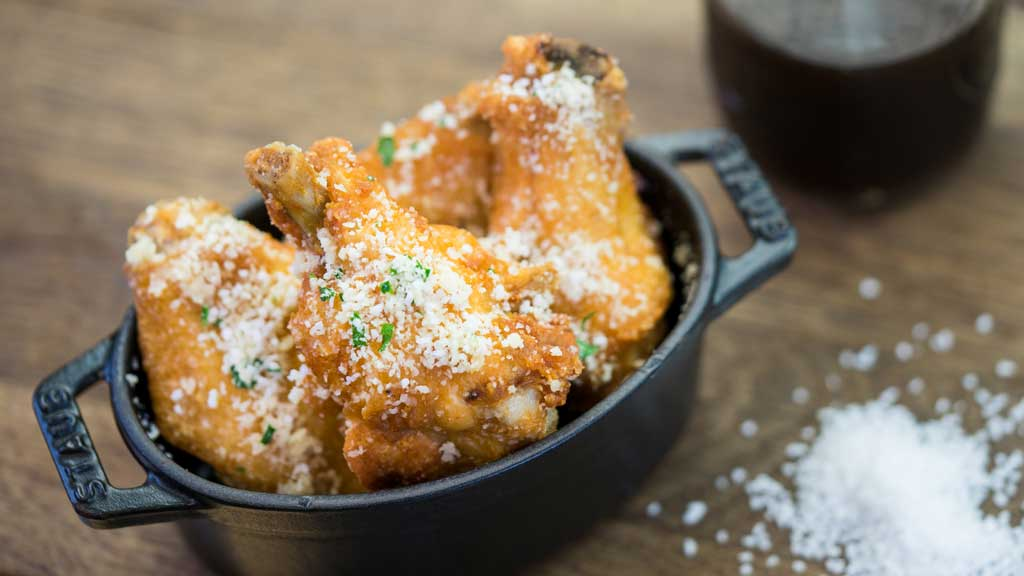 Cluck-A-Doodle-Moo - Salt and Vinegar Parmesan Chicken Wings