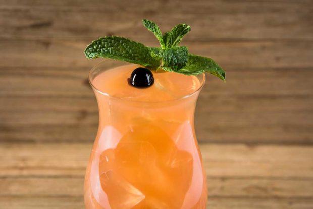 LA Style - Tiki Cocktail: Aged Rum, Falernum, Bitters, Lime & Grapefruit Juice
