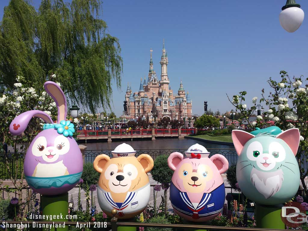 Stella Lou, Duffy, ShellieMay & Gelatoni in the Gardens of Imagination
