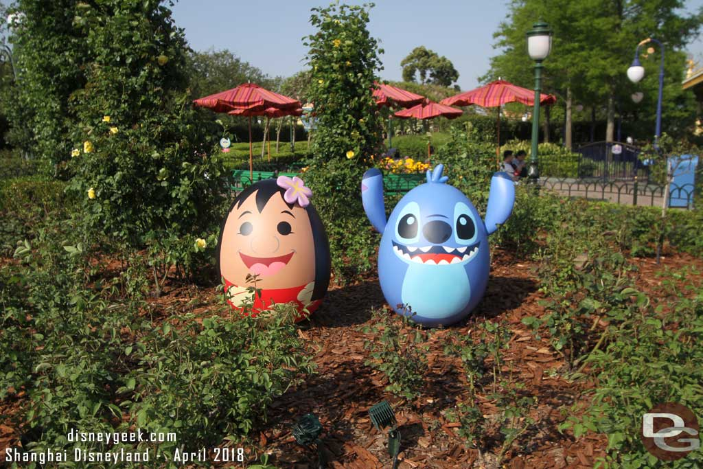 Lilo and Stitch in the Gardens of Imagination