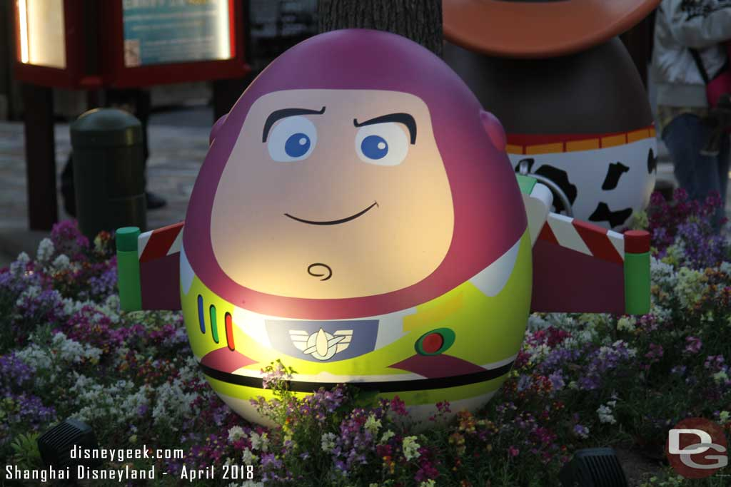 Buzz Lightyear in Disneytown