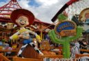 Jessie's Critter Carousel on Pixar Pier  (Several Pictures)