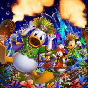 """Donald's Hot Jungle Summer"" at Tokyo Disneyland"