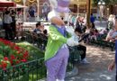 Easter Bunny is visiting Town Square at Disneyland