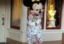 Mickey Mouse in his Get Your Ears On Celebration Outfit
