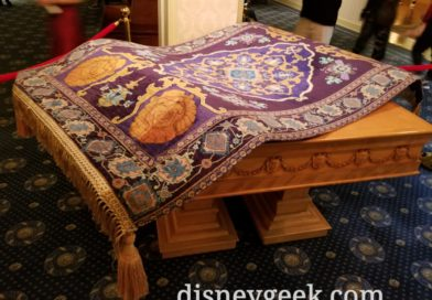 Pictures: Disney's Aladdin Preview & Exhibit In Disney Gallery & Main Street Opera House
