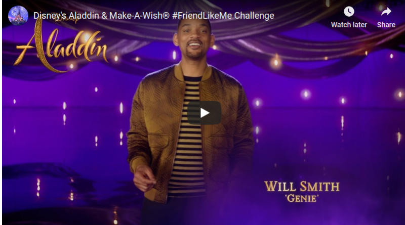 Friend Like Me Challenge - Aladdin