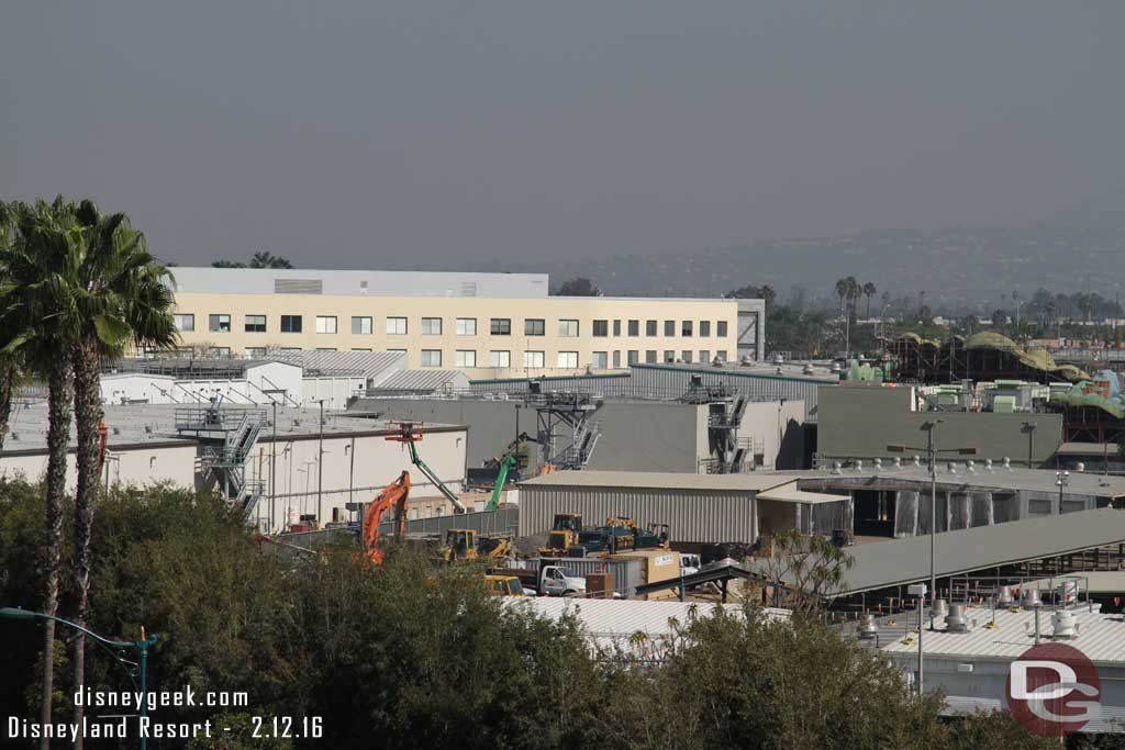 Disneyland - February 12, 2016 Before Construction got underway for Star Wars: Galaxy's Edge