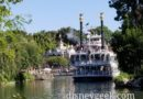 Mark Twain Riverboat Traveling Along the Rivers of America