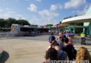 Magic Kingdom Bus queue this morning at Pop Century