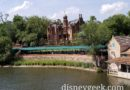 Haunted Mansion from the Rivers of America