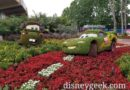 Lightning & Mater Topiaries in Future World