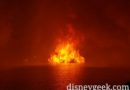 Inferno Barge – Epcot Illuminations Reflections of Earth