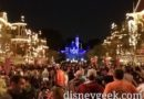 Main Street USA,  20 min until Mickey's Mix Magic
